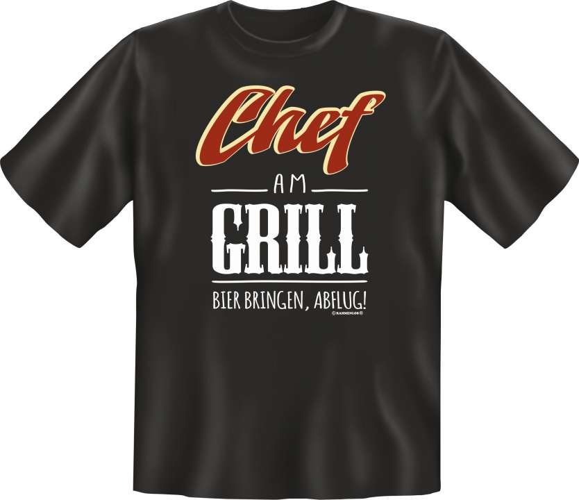 T-Shirt: Chef am Grill S
