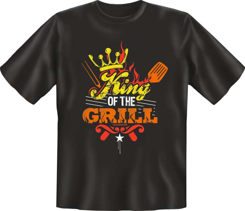 T-Shirt: King of the Grill