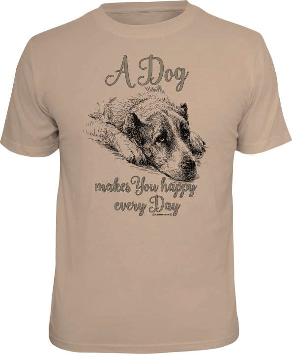 T-Shirt: Dog every day