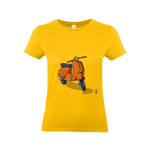 T-Shirt - Frau | Vespa Orange